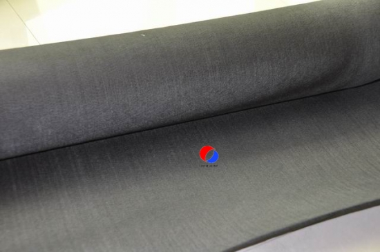 High Purity Rayon Based Carbon Fiber Soft Felt for sale
