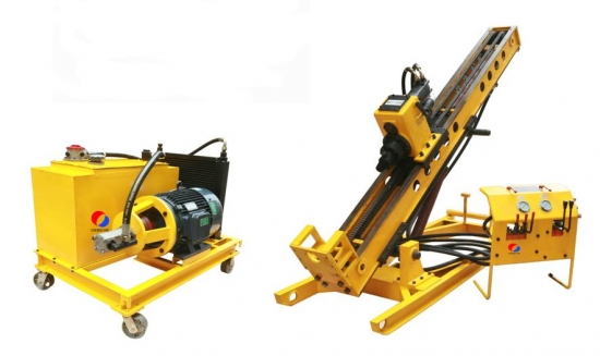 fission type anchoring drill