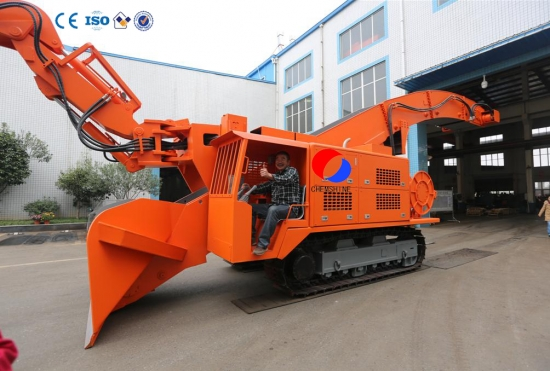 tunnel loading machine