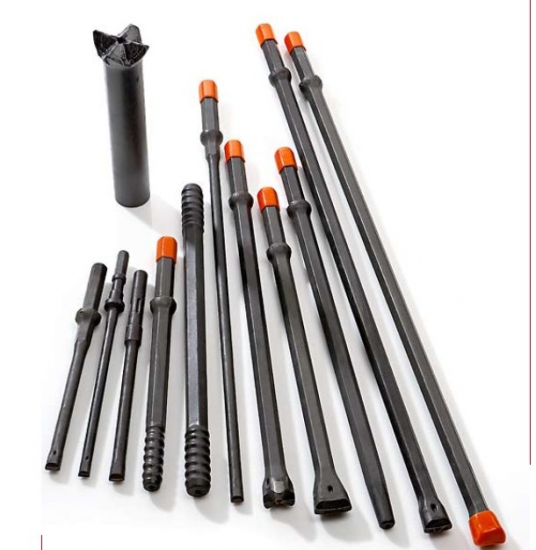Integral Drill rods tapered dill steels