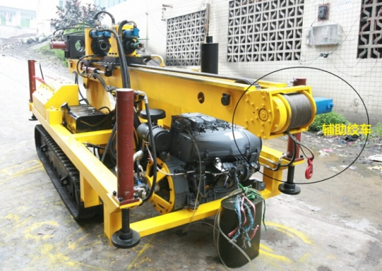 hydraulic anchoring drilling rig MGY120 for sale