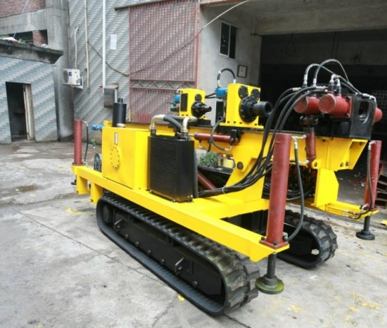 anchoring hole drill rig portable crawler anchor drilling rig MGY120 for sale