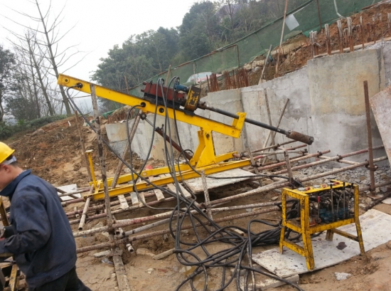 DMY60 impact anchoring drill rig for sale