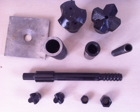 R32 51mm EXX drill cross bit rock drilling bits taper bits for self drilling anchor for sale