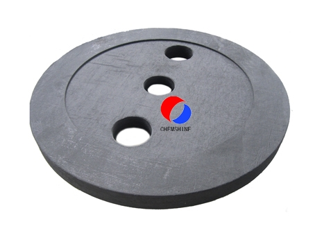 Round Shape PAN Based Rigid Graphite Felt Board for sale