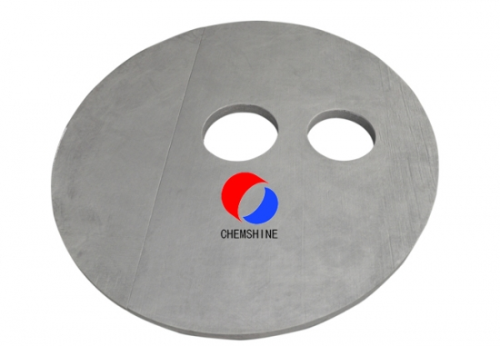 20MM Thickness Rayon Based Solid Graphite Felt Board for sale