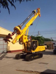 Rotary drilling rig HR526D Korea Imported main parts