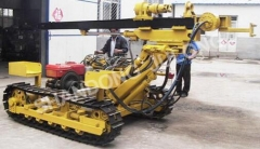 HZ-100Q crawler drilling rig for rock drilling