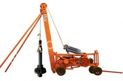 Popular CZ-25 percussion reverse circulation drill rig