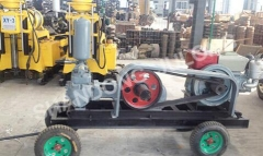 BW-200 MUD PUMP with electric engine or diesel engine