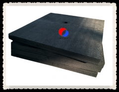 20MM Thick Rayon Based Rigid Graphite Felt Insulation Board