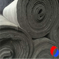 10MM Thick Rayon Based Flexible Carbon Fiber Felt